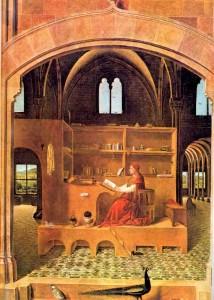 Saint Jerome in His Study, Antonello da Messina, c. 1475,